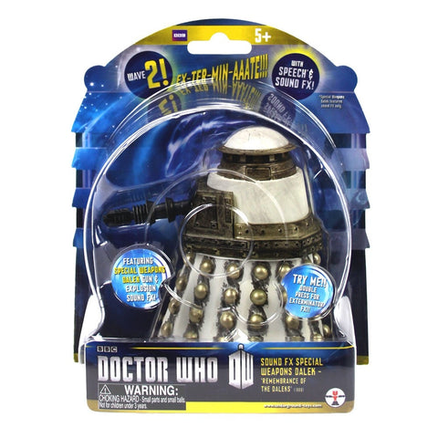 Doctor Who Sound FX Special Weapons Dalek Action Figure - It Came From Planet Earth  - 1