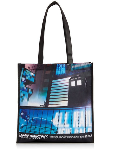 Doctor Who Tokyo Tardis Tote Bag - It Came From Planet Earth  - 1