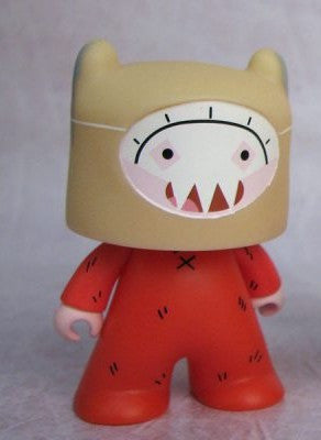 Titans Cartoon Network Collection Finn Chase Figure Adventure Time - It Came From Planet Earth  - 1