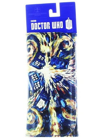 Doctor Who Van Gogh Exploding Tardis Vinyl Ladies Wallet - It Came From Planet Earth  - 1