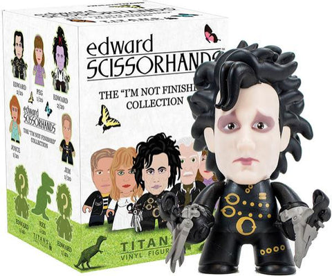 Titans Edward Scissorhands I'm Not Finished Collection Edward - It Came From Planet Earth  - 1