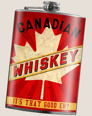 Flask - Canadian Whiskey