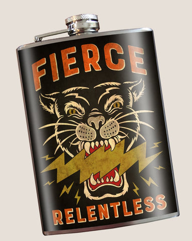 Flask - Fierce / Relentless