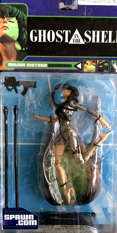 McFarlane Ghost In The Shell Major Motoko Kusanagi Figure Vintage - It Came From Planet Earth  - 1
