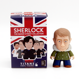 Titans Sherlock The Baker Street Collection John Fur Hood Coat - It Came From Planet Earth  - 1