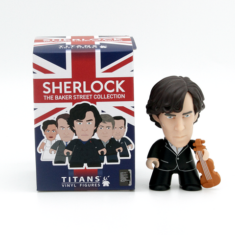 Titans Sherlock The Baker Street Collection Sherlock White Shirt - It Came From Planet Earth  - 1