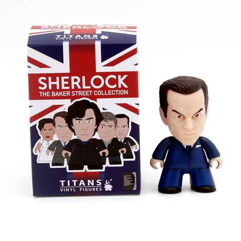 Titans Sherlock The Baker Street Collection Moriarty Suit - It Came From Planet Earth  - 1