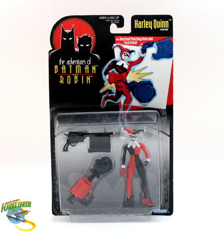 Adventures of Batman and Robin Harley Quinn Vintage Figure - It Came From Planet Earth  - 1