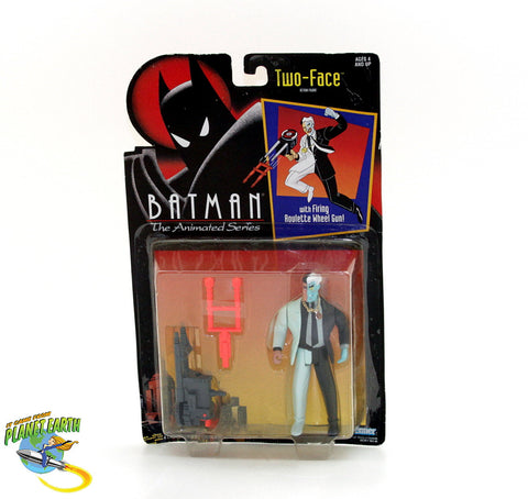 Batman The Animated Series Two-Face Vintage Figure - It Came From Planet Earth  - 1