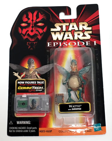 Star Wars Phantom Menace Watto Figure Vintage - It Came From Planet Earth  - 1