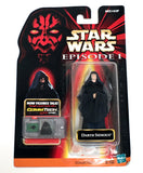 Star Wars Phantom Menace Dark Sidious Figure Vintage - It Came From Planet Earth  - 1