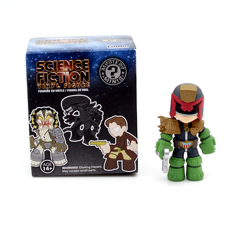 Mystery Minis Science Fiction Series 1 Judge Dredd - It Came From Planet Earth  - 1