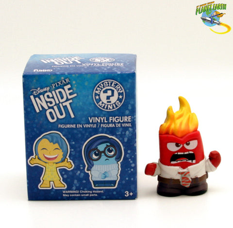 Mystery Minis Inside Out Anger Flame Head - It Came From Planet Earth  - 1