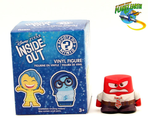 Mystery Minis Inside Out Anger - It Came From Planet Earth  - 1