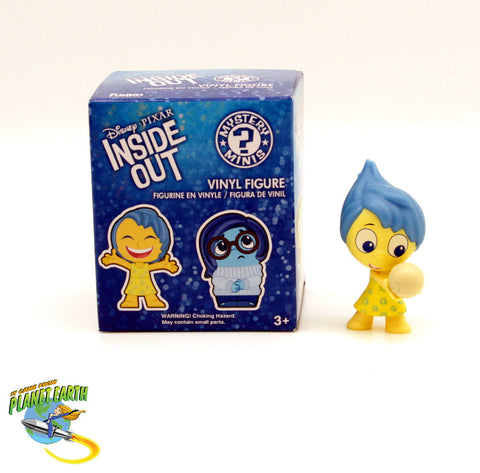 Mystery Minis Inside Out Joy with Memory Ball - It Came From Planet Earth  - 1