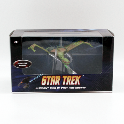 Hot Wheels Star Trek Wave 3 Klingon Bird-of-Prey HMS Bounty - It Came From Planet Earth  - 1