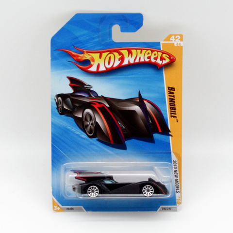 Hot Wheels New Models 2010 Batman Batmobile Vintage - It Came From Planet Earth  - 1