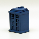 Blue British Police Phone Booth Magnet - It Came From Planet Earth  - 2
