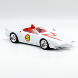 Hot Wheels Speed Racer Mach 5 Movie Version 1:24 2008 Vintage - It Came From Planet Earth  - 3