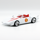 Hot Wheels Speed Racer Mach 5 Movie Version 1:24 2008 Vintage - It Came From Planet Earth  - 1