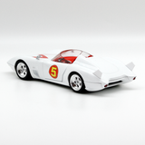 Hot Wheels Speed Racer Mach 5 Movie Version 1:24 2008 Vintage - It Came From Planet Earth  - 4