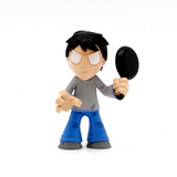 Mystery Minis Supernatural Join The Hunt Collection Kevin Tran Figure - It Came From Planet Earth  - 4