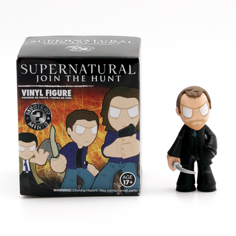 Mystery Minis Supernatural Join The Hunt Collection Crowley Figure - It Came From Planet Earth  - 1