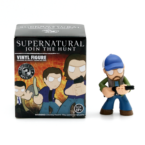 Mystery Minis Supernatural Join The Hunt Collection Bobby Figure - It Came From Planet Earth  - 1