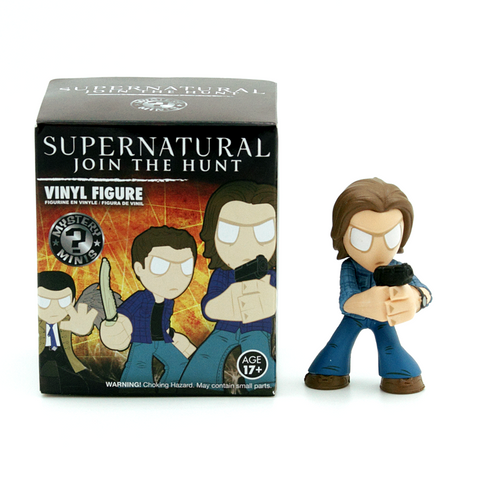 Mystery Minis Supernatural Join The Hunt Collection Sam Winchester Figure - It Came From Planet Earth  - 1