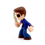 Mystery Minis Supernatural Join The Hunt Collection Demon Dean Figure - It Came From Planet Earth  - 3