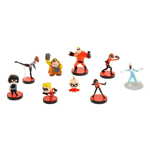 The Incredibles 2 Mini Supers Collectible FIgures
