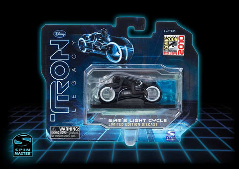 Tron Legacy Sam's Light Cycle Limited Edtion Diecast SDCC 2010 Exclusive Vintage - It Came From Planet Earth