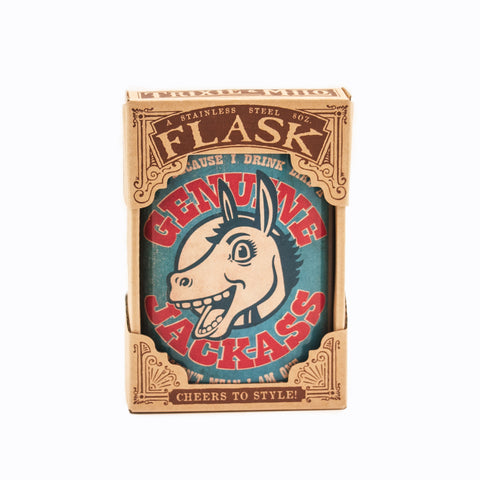 Flask -Genuine Jackass