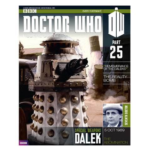 Doctor Who Special Weapons Dalek Figurine Collection - It Came From Planet Earth  - 5