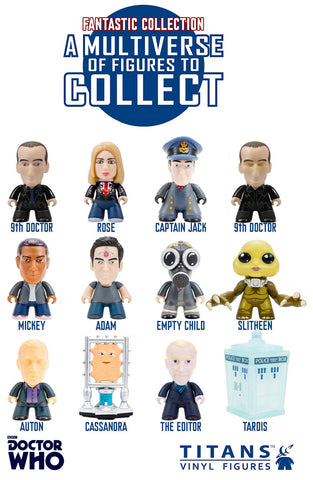 Doctor Who 9th Doctor Fantastic Collection Blind Box - It Came From Planet Earth  - 1