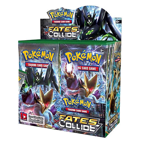 Pokemon XY Fates Collide Card Game Booster Pack English Edition - It Came From Planet Earth  - 1