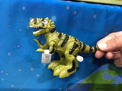 Dinosaur T-Rex Wind Up Toy - Green