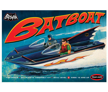 1966 Classic Batboat - It Came From Planet Earth  - 1