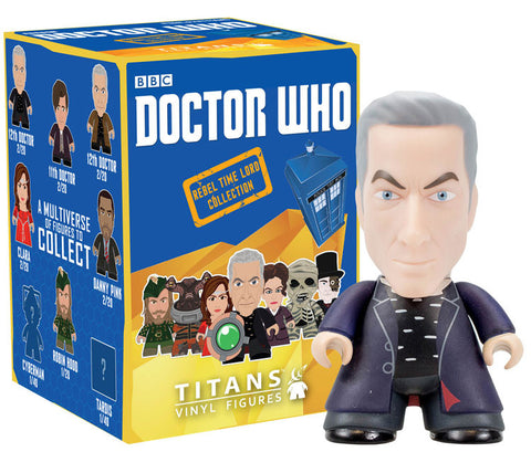 Doctor Who: Rebel Time Lord Collection 12th Doctor Black Clothes - It Came From Planet Earth