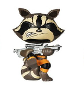 Funko Mystery Minis Guardians of the Galaxy Rocket Raccoon Attack Figure - It Came From Planet Earth  - 1