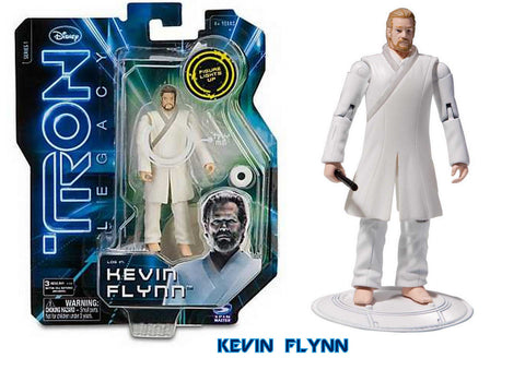 Tron Legacy Series 1 Core Figure Kevin Flynn Vintage - It Came From Planet Earth  - 1
