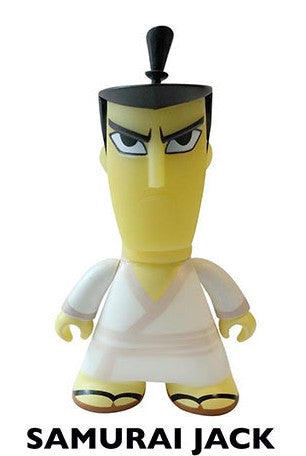 Titans Cartoon Network Collection Samurai Jack Figure - It Came From Planet Earth  - 1