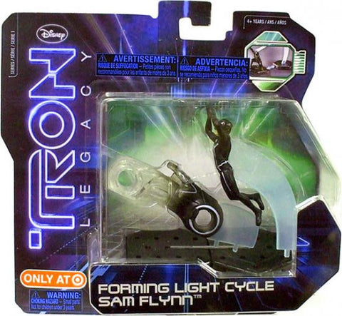 Tron Legacy Forming Light Cycle Sam Flynn Action Pack - It Came From Planet Earth