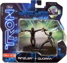 Tron Legacy Rinzler + Quorra Action Pack Vintage - It Came From Planet Earth