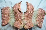 Tea Rose Wedding Wearable Ceramic Corset - It Came From Planet Earth  - 3