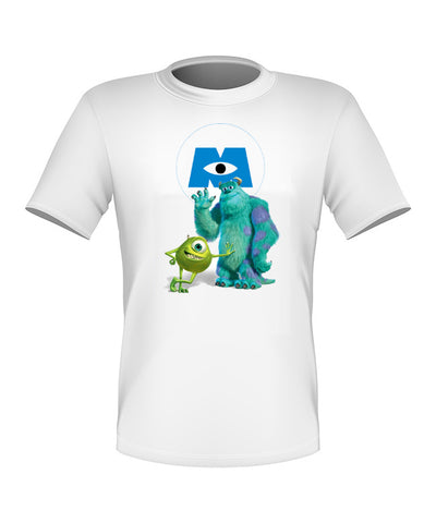 Brand New Fun Custom Disney T-shirt Monster Inc Mike and Sulley All Sizes Cute!