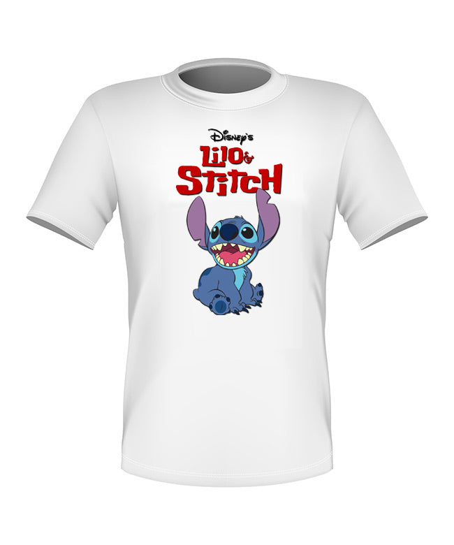 Brand New Fun Custom Disney T-shirt Lilo and Stitch All Sizes Cute!