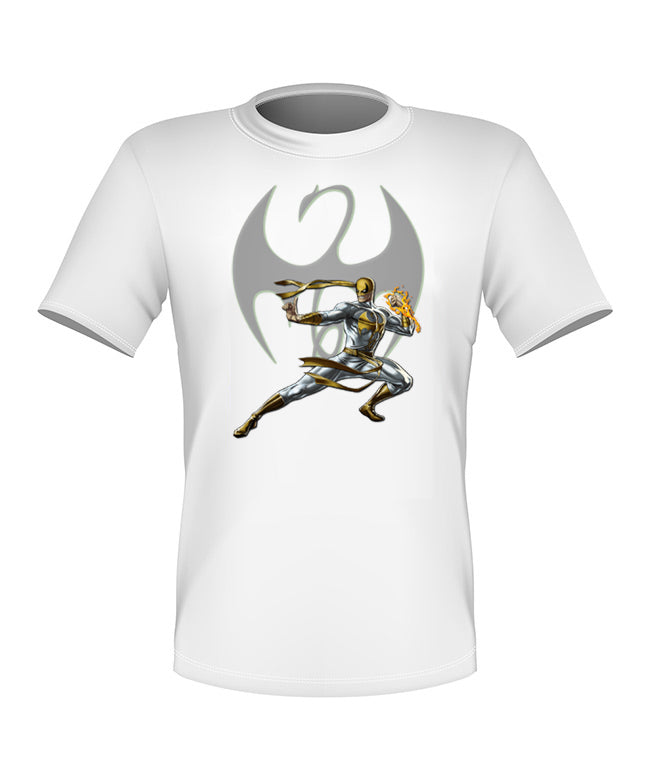 Brand New Fun Custom Super Hero T-shirt Iron Fist All Sizes Nice!