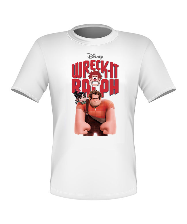 Brand New Fun Custom Disney T-shirt Wreck It Ralph All Sizes Nice!