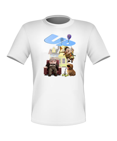 Brand New Fun Custom Disney T-shirt Movie UP All Sizes Nice!